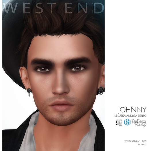[ west end ] Shapes - Johnny (Lelutka Andrea Bento) (add)
