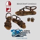 [LoPo Footwear] Slink Flat Beadcraft Sandal BOXED