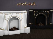 {moss&mink} Adele Fireplace