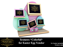 .: RatzCatz :. EasterEgg Vendor - Colorful Texture Set