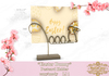 .: RatzCatz :. Postcard Holder *Easter Bunny*