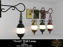 .: RatzCatz :. Wall Lamp *Svent*