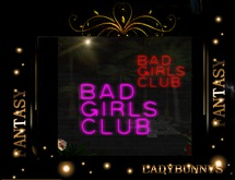 ~✿~Neon~✿~ Bar Sign-Bad Girls Club Sign-Neon-Animated-Transparent
