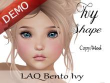 "Ivy Shape ""LAQ Bento Ivy Head"" Demo"