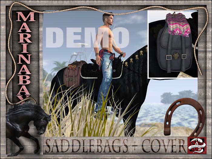 saddlebag+cover QH+HB DEMO