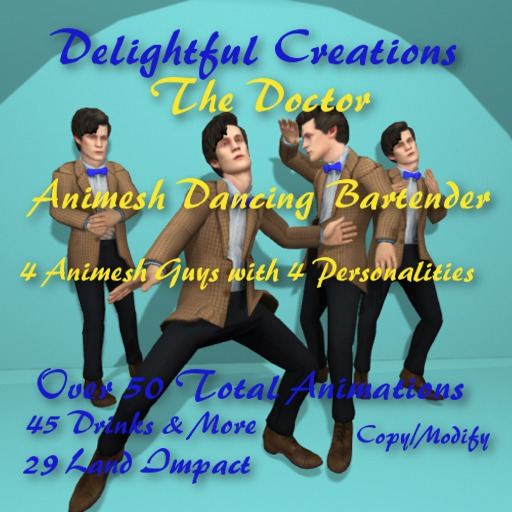 Animesh The Doctor, Dancing Bartenders, 27Li, Bagged
