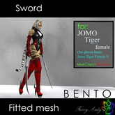 Furry Andy - Sword for Jomo Tiger Female