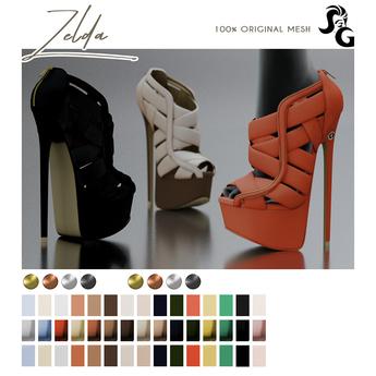 ::SG:: Zelda Shoes - MAITREYA