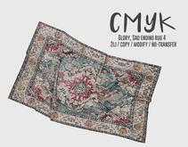 CMYK// Glory, Sad ending rug4 (unpack)