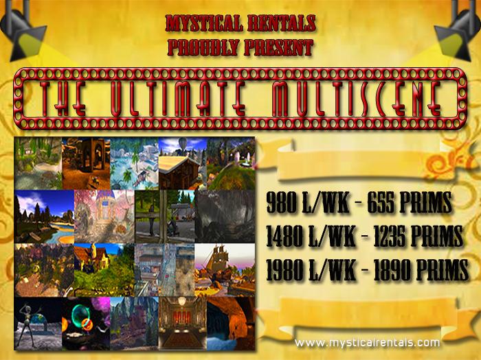 THE ULTIMATE MULTISCENE (full sim) By Mystical Rentals