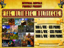 THE ULTIMATE MULTISCENE (full sim) By Mystical Rentals