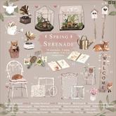 +Half-Deer+ Spring Serenade - Heart Watering Can (Gold)