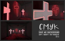 CMYK// Save me background (unpack)