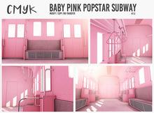 CMYK// baby Pink subway unpack