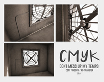CMYK// dont mess up my tempo (gray) unpack