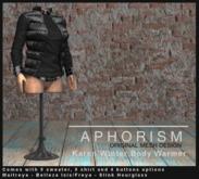 !APHORISM! Karen Winter Body Warmer - Black