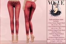 GIFT  Light red Skinny Jeans