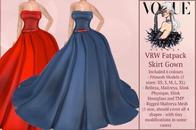 VRW Fatpack Skirt Gown Gift