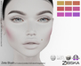 Zibska [50L Closeout] ~ Zeta Blush in 9 colors with Lelutka, LAQ, Catwa, Omega appliers and system tattoo layers