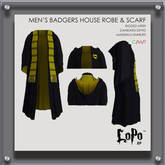 LoPo RP - Male HoB Robe & Scarf - BOXED
