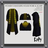 LoPo RP - Ladies' HoB Robe & Scarf - BOXED