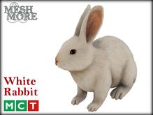 M&M Mesh White Rabbit [Boxed] - Easter Bunny, Easter rabbit