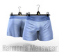 Blue Asher Boxers - Signature Gianni - Harmonia