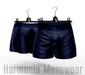 Navy Dry Cotton Asher Boxers - Signature Gianni - Harmonia