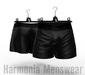 Asher boxers pattern black