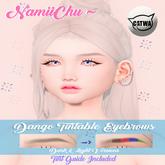NamiiChu ~ Dango Tintable eyebrows. CATWA