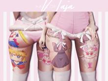 !hn! // moon fighter :: full body tattoo
