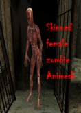 skinned zombie F boxed