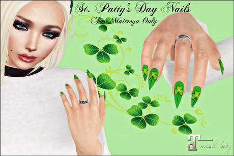 St. Patty's Day - Maitreya Nails