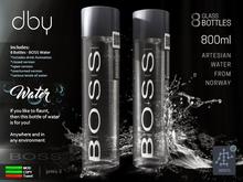 BOSS Water [8 glass bottles] dby