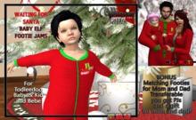 Baby Elf Footie PJs