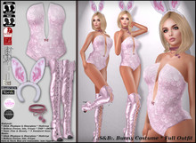 .:S&B:. Bunny Costume Fulloutfit