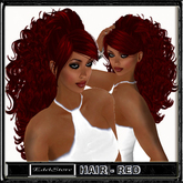 """EdelStore  woman hair """" Anja """" red rote haare Hexe curly long bruja sorcière bruxa witch vampir vampire vampiro gothique"""