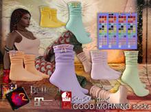 ShuShu trend GOOD MORNING socks mid flat SLink Maitreya Belleza