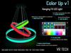 VR-TECH Hanging FX Circular LED Lights