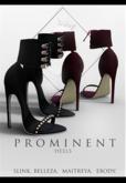 .Q. Prominent Heels -FTPCK- [Belleza,Slink,Maitreya,eBody]
