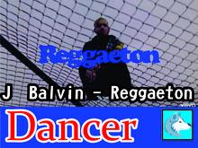 J Balvin - Reggaeton Dancer Boxed