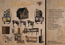 [ContraptioN] The Dread: Jean's Tool Clutter Set BOXED