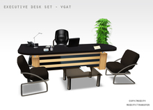 OFFICE FURNITURE EXECUTIVE DESK VGAT Copy/Modify & Modify/Transfer EVLAND