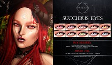 Oxydate. [Succubus] Eyes - FATPACK -
