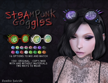 :Z.S: Steampunk Goggles