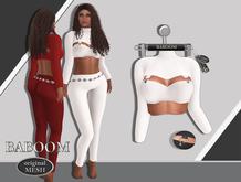 Baboom Lizzy-Shirt-Original Mesh-white