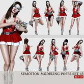 [Box] SEmotion Female Bento Modeling poses Set 45