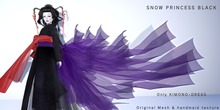 *N*SNOW PRINCESS BLACK<BOX>