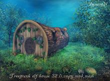 Treetrunk Elf house - 32 LI