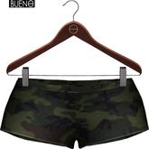 BUENO-Half Shorts-Camo - Maitreya, Slink HG, Belleza Freya
